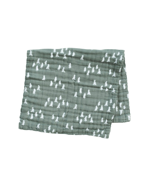 Burp Cloth – Green Pines