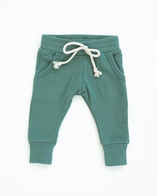 French Terry Joggers – Jade