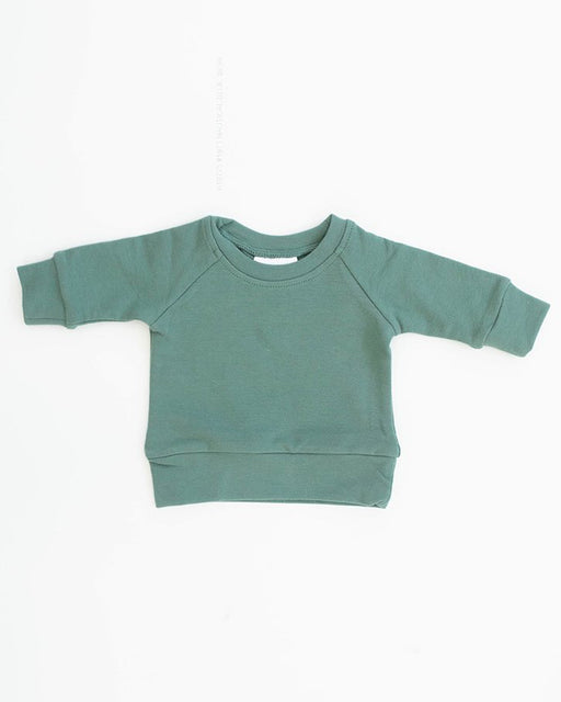 French Terry Crewneck Sweatshirt – Jade