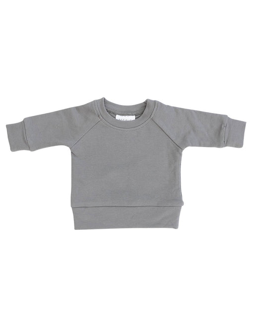 French Terry Crewneck Sweatshirt – Slate