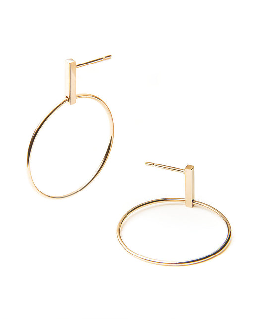 Meghan Hoop Earrings