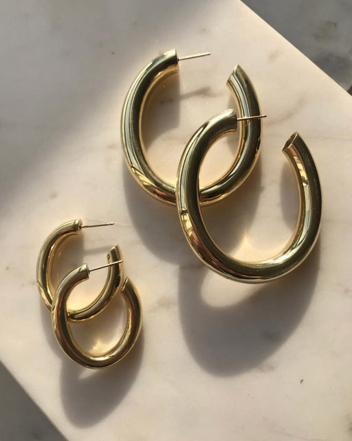 Laura Lombardi:Curve Earrings – Mini,ANOMIE