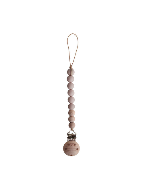 Cleo Pacifier Clip – Pale Taupe