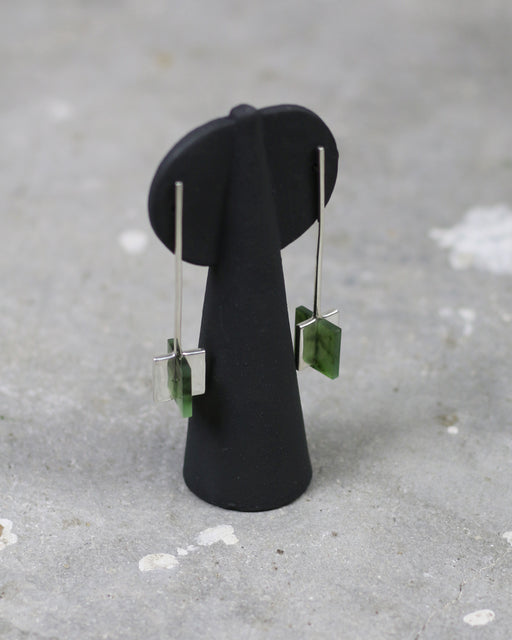 Meter Earrings – British Columbian Jade