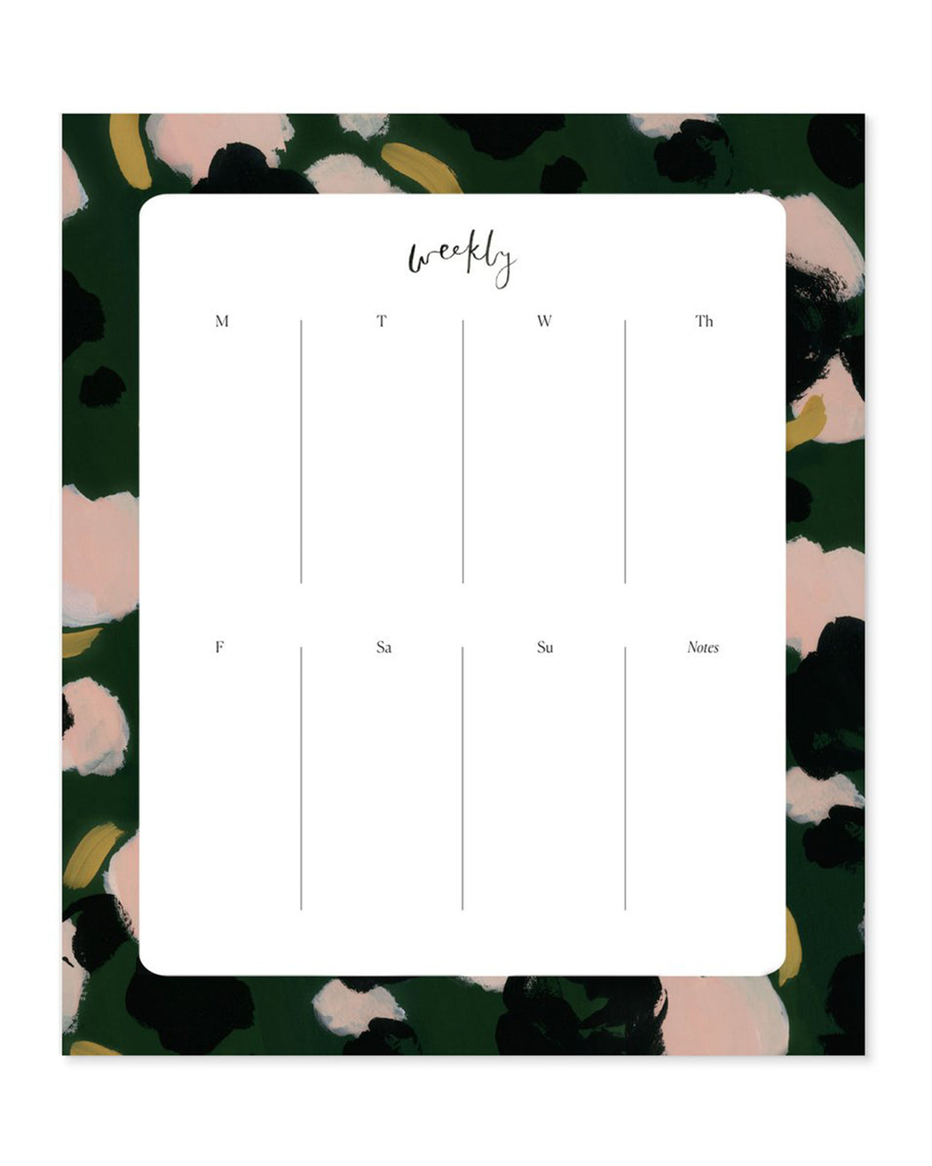 Our Heiday:Agenda Pad – Camelia,ANOMIE