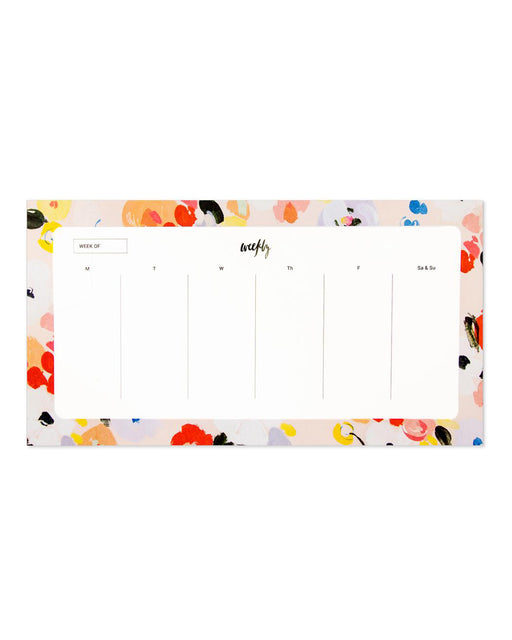 Our Heiday:Weekly Desk Pad – Charlie Florals,ANOMIE