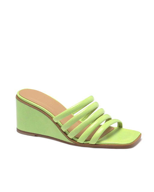 Paloma Wool:Magdalene Wedge – Lime Fluor,ANOMIE