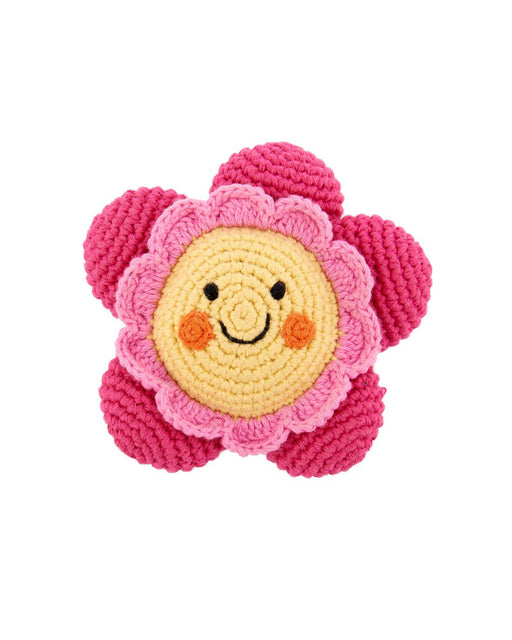Friendly Flower Rattle – Pink