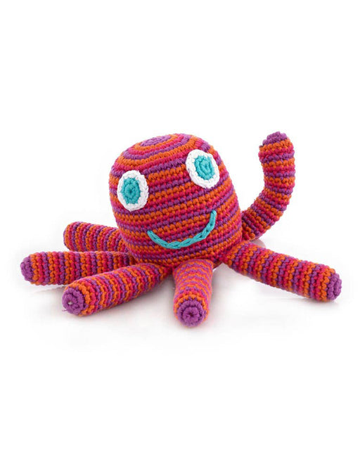 Octopus Rattle – Dark Pink
