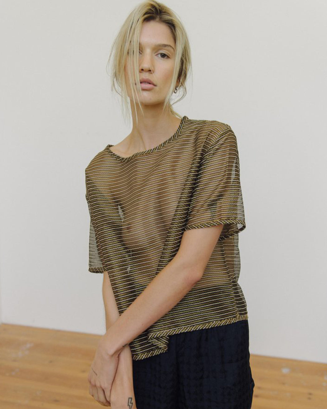 PRIORY:Shi Tee – Sheer Stripe,ANOMIE