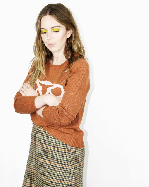 Randy's Reproduction System Sweater – Cinnamon