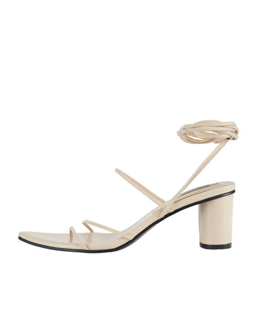 Reike Nen:Odd Pair Sandals – Cream,ANOMIE