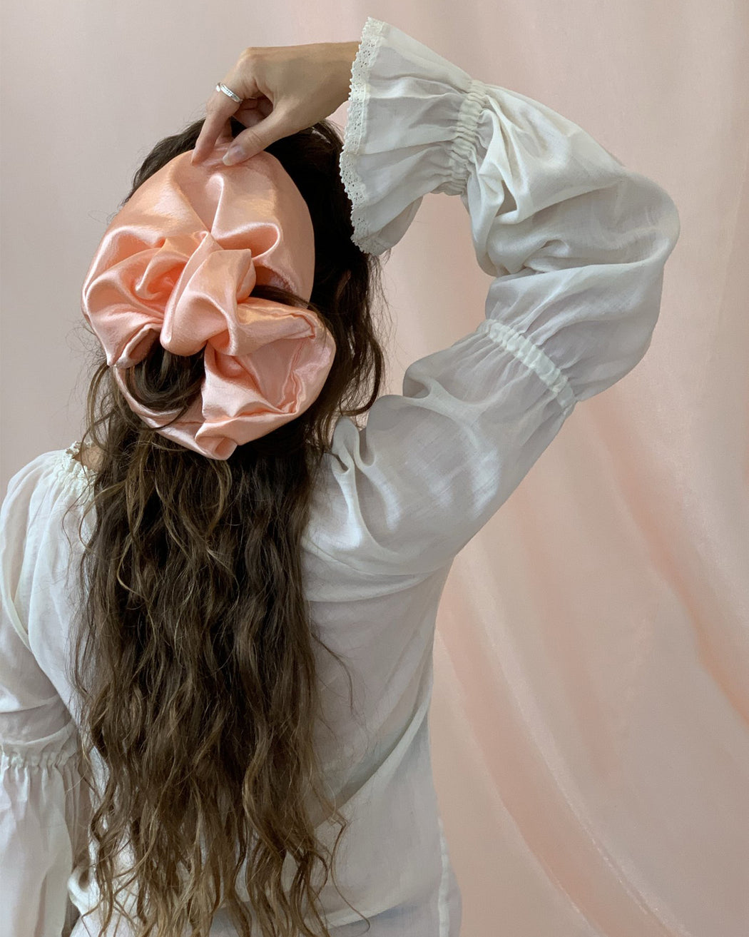 Giant Satin Scrunchie – Assorted Colors