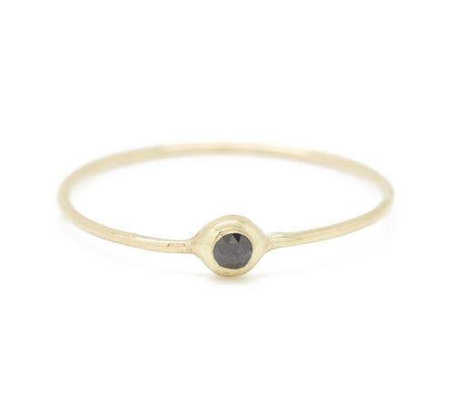 Claire Kinder:Black Diamond Pip Ring,ANOMIE