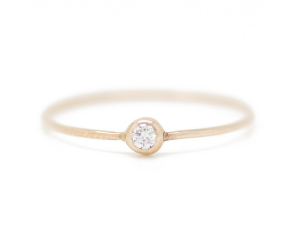 white diamond pip ring