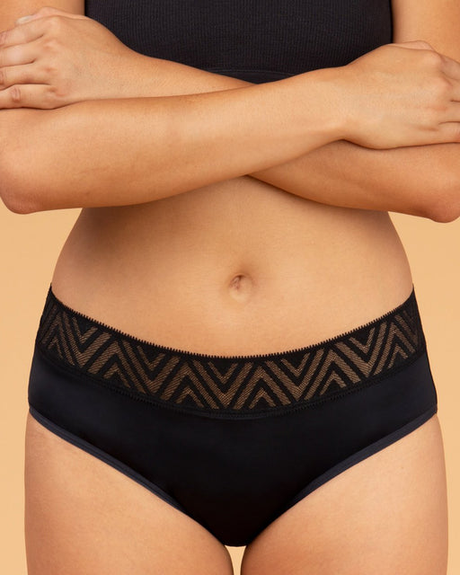 THINX:Period-Proof Underwear – Hiphugger,black / small