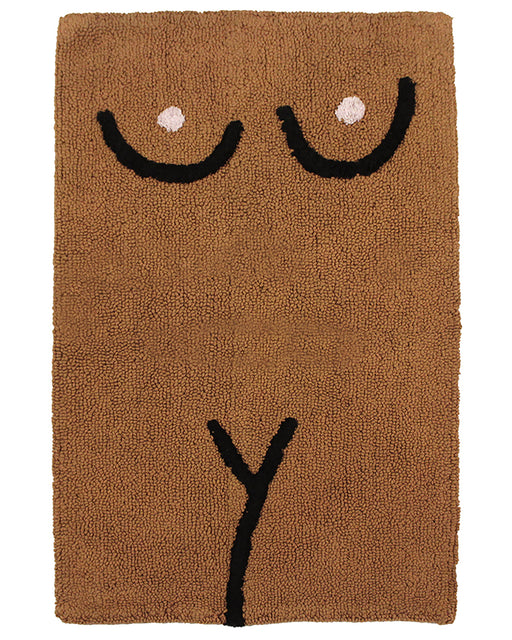 Torso Bathmat – Brown