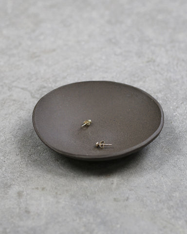 raw espresso jewelry bowl