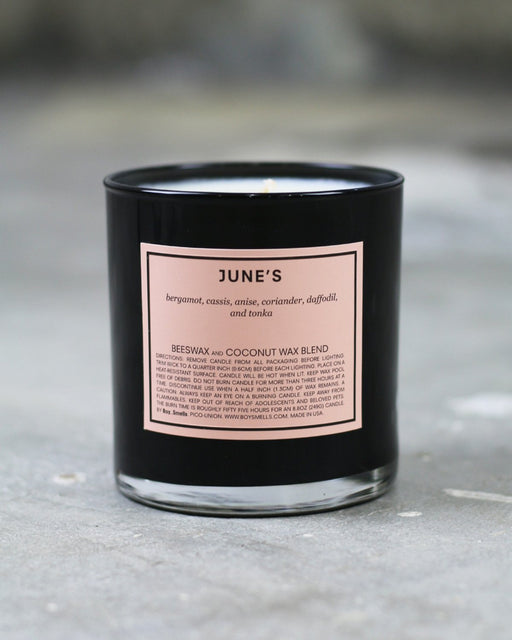 Boy Smells:June's – Candle,ANOMIE