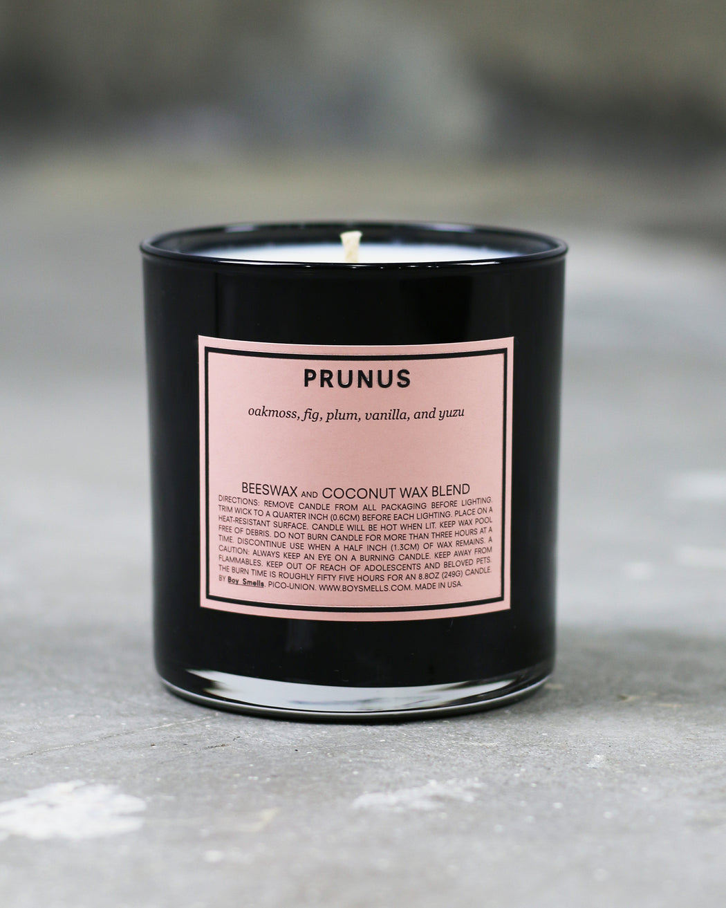 Boy Smells:Prunus – Candle,ANOMIE