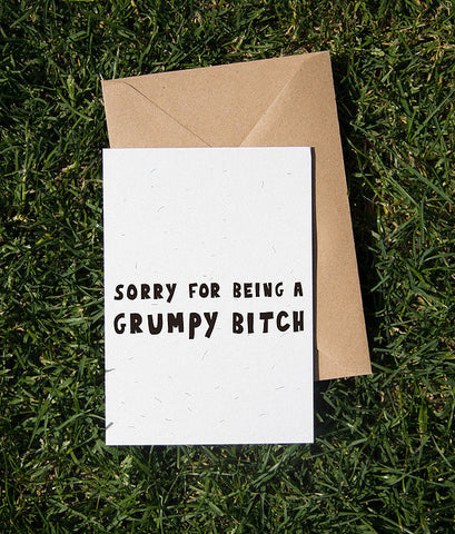 grumpy bitch card