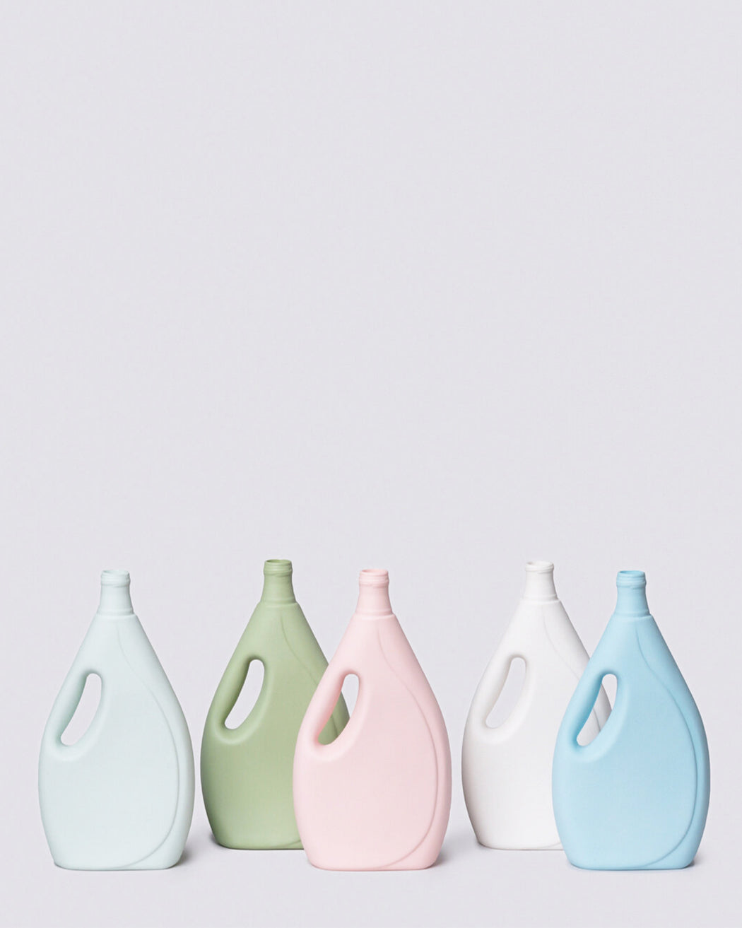 Laundry Detergent Bottle Vase – Assorted Colors