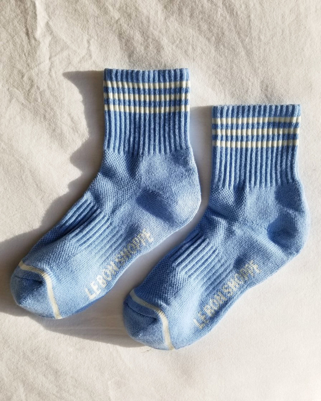 Girlfriend Socks – Parisian Blue