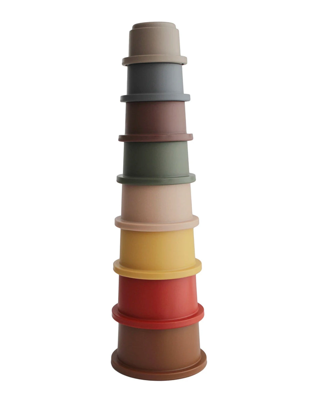 Stacking Cups Toy – Retro Colors