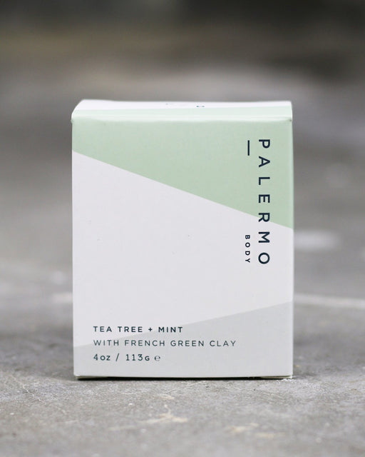 Tea Tree + Mint + French Green Clay Soap by Palermo Body
