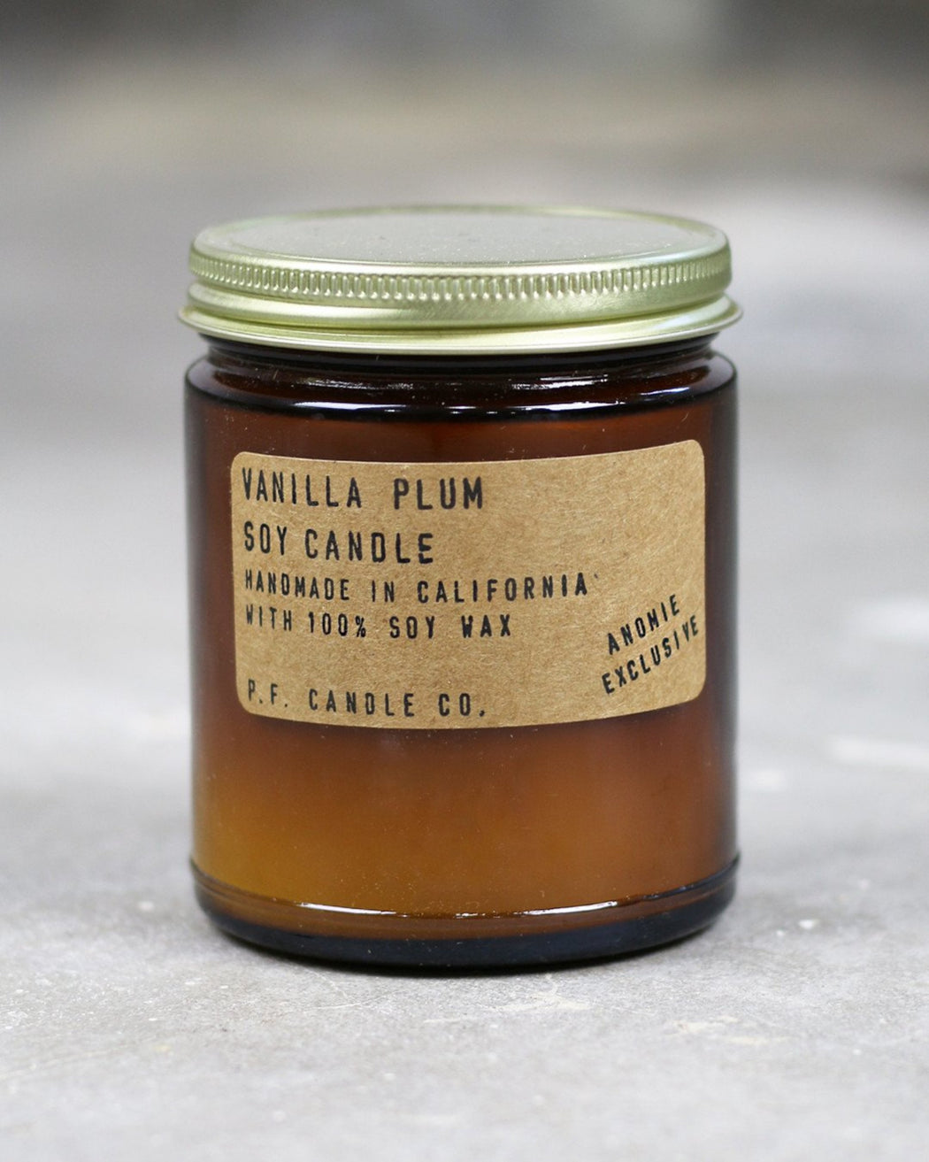 P.F. Candle Co. x ANOMIE:Vanilla Plum – Candle,ANOMIE