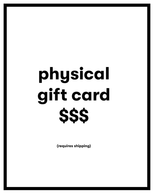 ANOMIE:Physical Gift Card,
