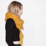 wool cloud scarf