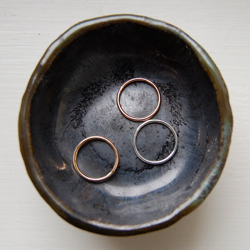Nadine Jewelry:smooth stacking ring,ANOMIE