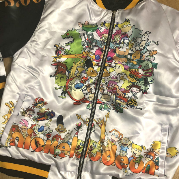 Cartoon Network vs Nickelodeon  jacket