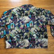 Cool old school print jacket