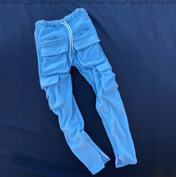 Tooling multi-pocket casual pants