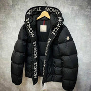 Letter print fashion down jacket
