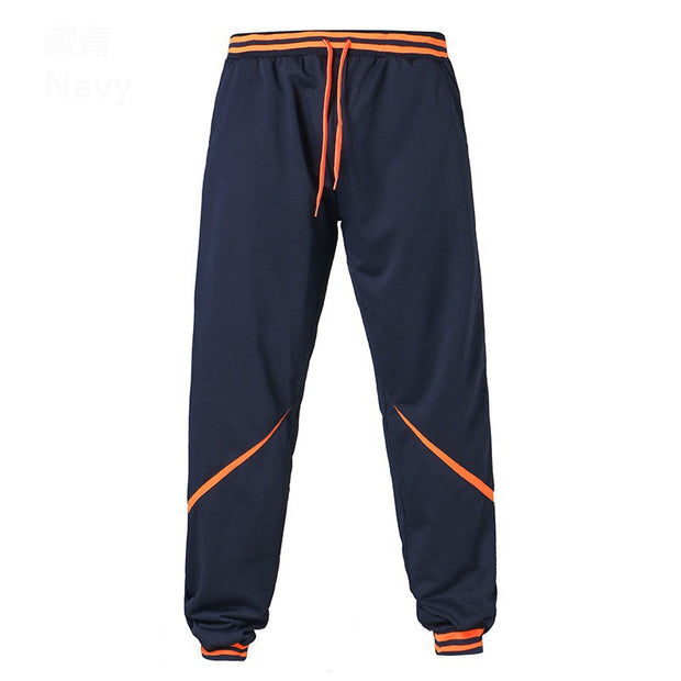 Color block stripe design streetwear jogger