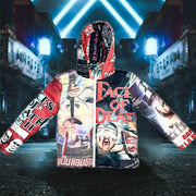 Faces of death jacket-white