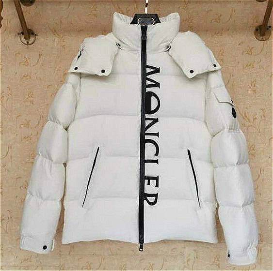 Fashion puffer coat letter print jacket