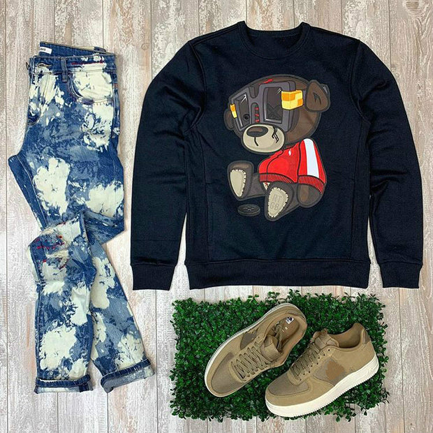 X bear black casual Sweater