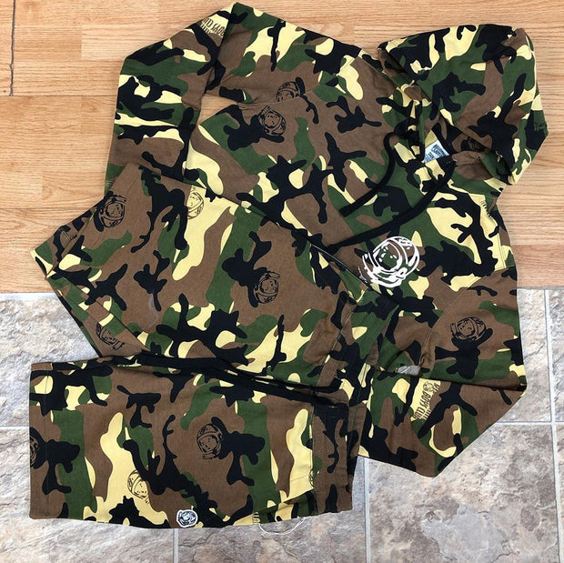 Billionaire boys club Camouflage printed fashion Hooded Sweater Set