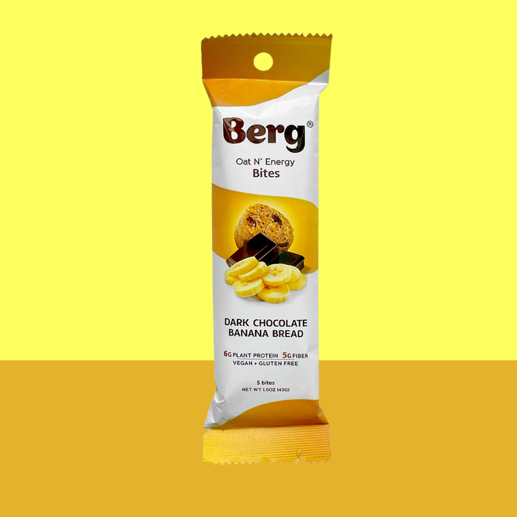 Berg Bites Dark Chocolate Banana Bread