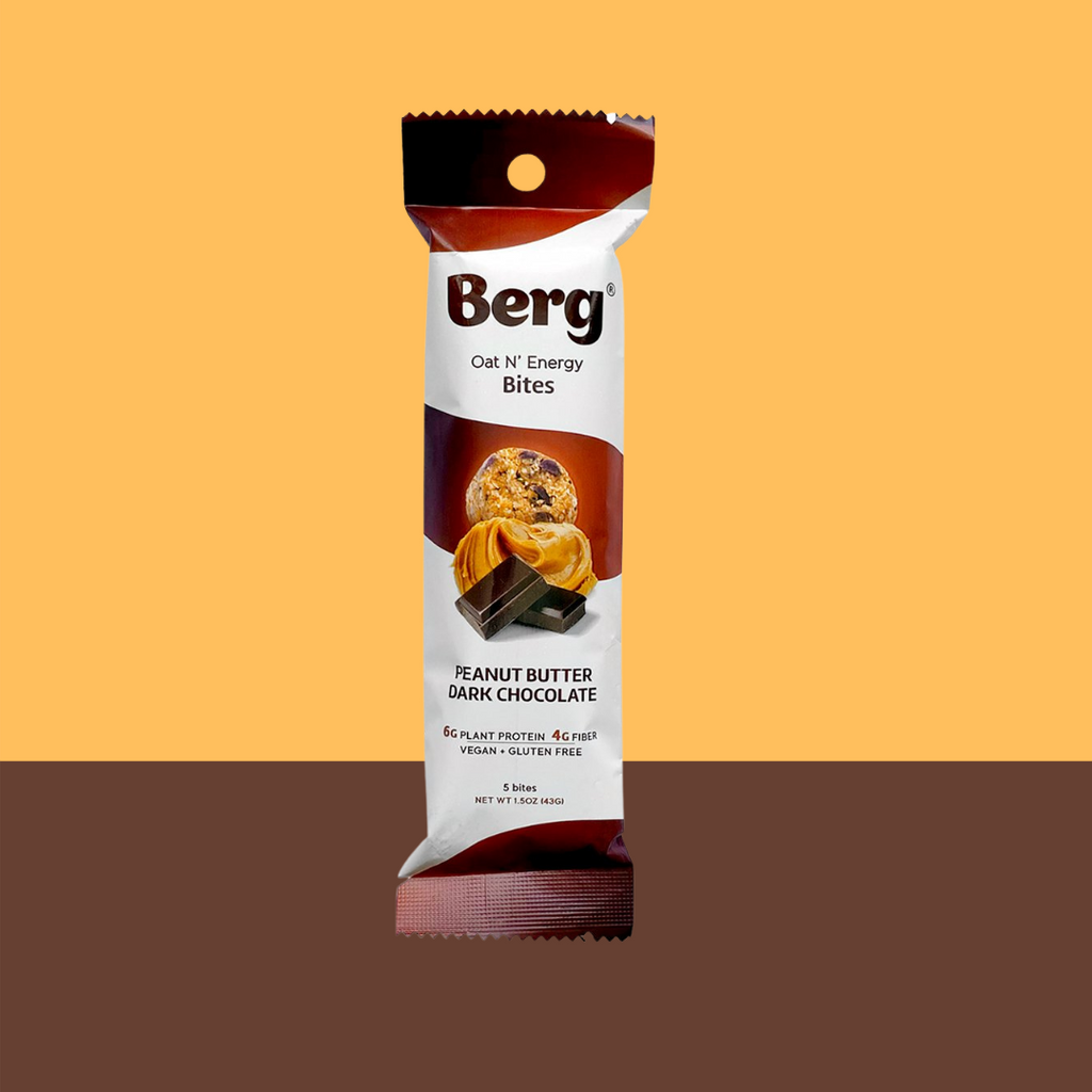 Berg Bites Peanut Butter Dark Chocolate