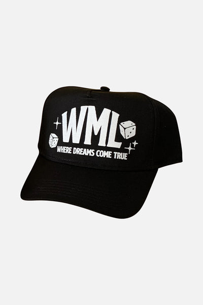 Where Dreams Come True Cap (black)