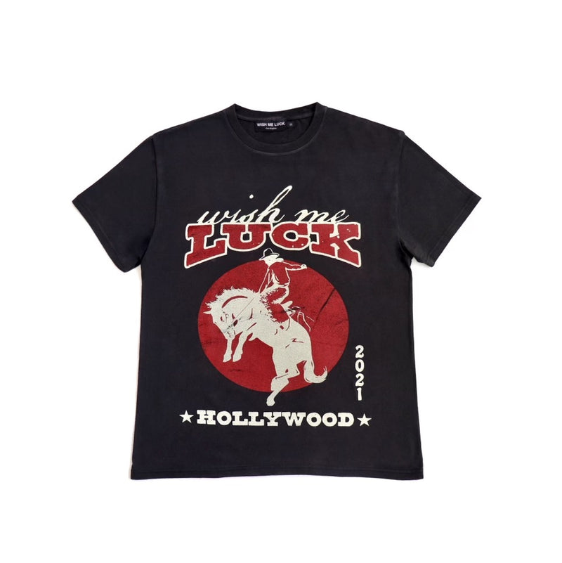 Lucky Cowboy Vintage Washed T shirt