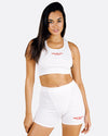 WML Essential Biker Short (White)