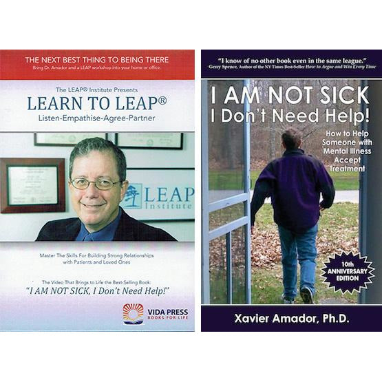 DVD-Learn to LEAP & I AM NOT SICK, I Don't Need Help!