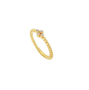 Bague Marquise - Blanc