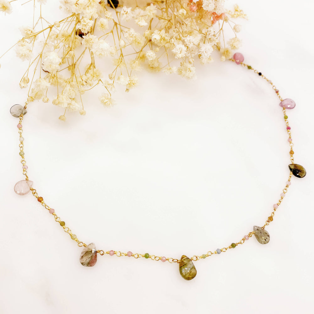 Collier Manon - Multi Tourmaline